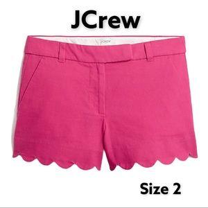 NWT JCrew hot pink shorts XS